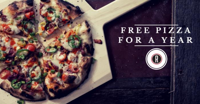 Revolve Free Pizza