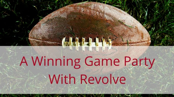 A winning game party with Revolve