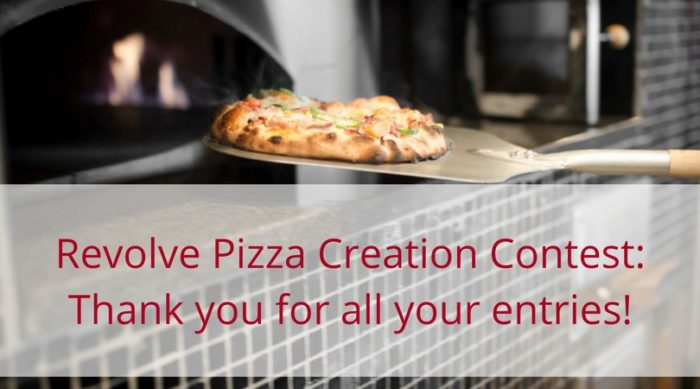 Revolve Pizza Creation contest winner
