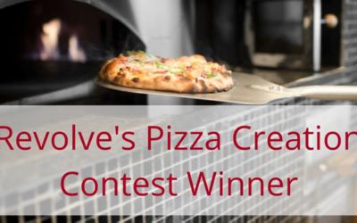 Revolve Pizza Creation contest winner