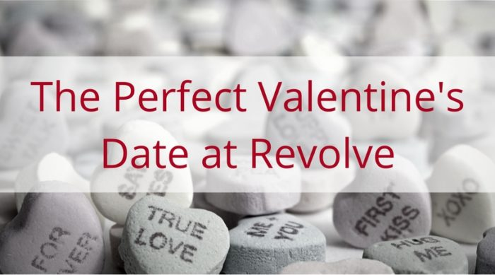 The perfect Valentine's date at Revolve