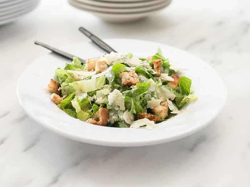 Classic Caesar Salad at Revolve Pizza Kitchen